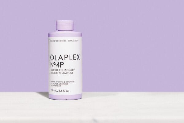 Olaplex No.4P Blonde Enhancer Toning Shampoo